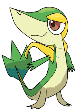 Snivy by HGSS1994