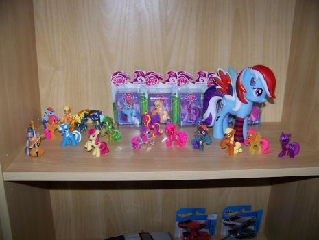 My collection of ponies by busiek88