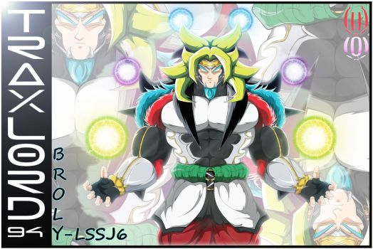 Broly LSSJ6 (DBON)-(Card-2) by TraxLord94