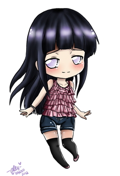 Hinata Chibi-cute outfit time! by shock777