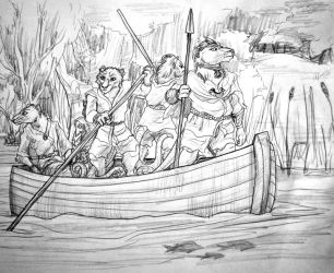 Chief and Crew of Water Rats by SpiderMilkshake