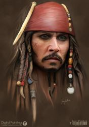 Captain Jack Sparrow by ipawluk
