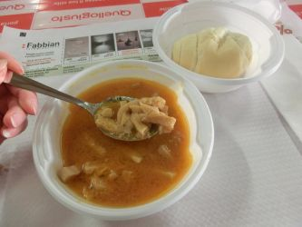 Cow stomach soup for breakfast by AltairSky