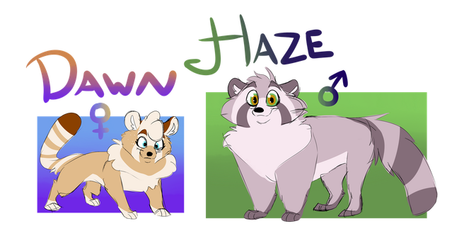 Haze and Dawn by AstersCalamity