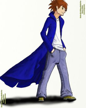 Blue Coat by Dara-is-Still-alive