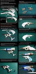Blue Rose Liquid Freezing Gun WIP 2 by ValeforHo