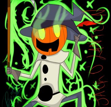 Grim Adventures-Jack O'Lantern by Sammy-I-am23