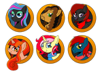 Brony Badge Set 16 by DBurch01