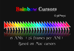 Rainbow Cursors by pkuwyc