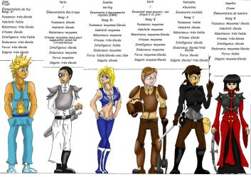 Les 12 premiers protagonistes 1/3 by Si-Nister