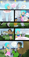 TDA: Intro Comic, Kagami and Gazimon by Douji-Mayamiko