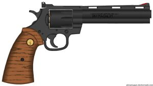 Colt Python by GeneralTate