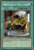 Meat Pie card by Starburst27