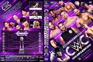 WWE CWC 2016 DVD Cover by Chirantha