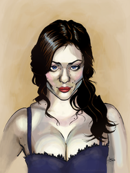 Kat Dennings by Abt-Nihil