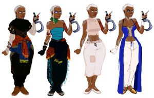 Jj Nimh Outfits by orokay
