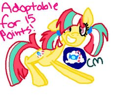 Adoptable for 15 points! CLOSED by chocoqueen112