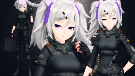[MMD] Violette/Bunny Blumstein (updated...again) by AbyssLeo