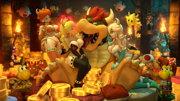 Bowser Babes | Nintendo by Urbanator