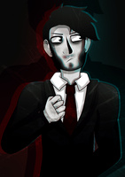 Darkiplier by P-Paradox
