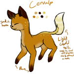 Possibly new species? Cervulps by royalraptors