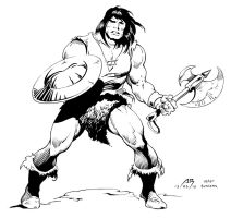 Conan by Buscema - Inks by adr-ben