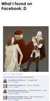 Ezio and Leonardo on facebook? by LavyFletcher