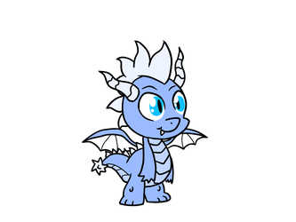 Guy baby dragon by Baumbs