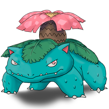 003 Venusaur by DemensLab