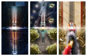 88MPH Trilogy by AndyFairhurst