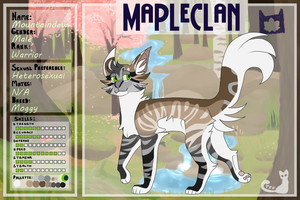 {TFF} Mapleclan Warrior - Mountaindew by Cities-scapes