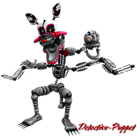 Nightmare Mangle by Detective-Puppet