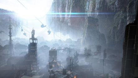 Colony matte painting by 2buiArt
