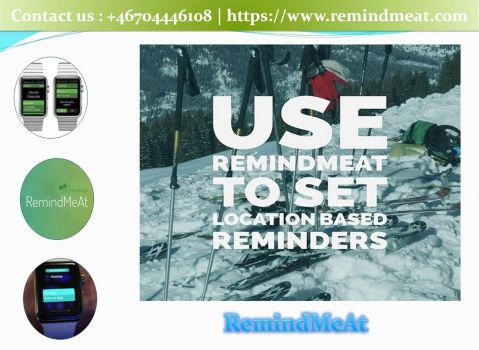 Create Reminder on iPhone and Apple Watch by remindmeat