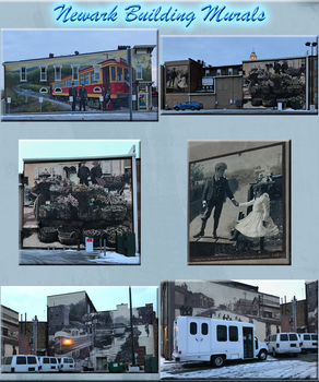 Newark Building Murals by WDWParksGal