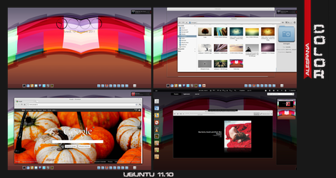 Color - Ubuntu 11.10 by Alespana