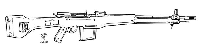 MOSNAGT Rifle No.1 Mk. 2 by Pyrosity
