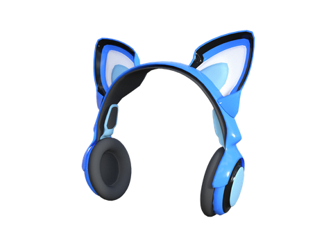 Sci-fi Cat Headphone for Genesis 8 Female by amyaimei