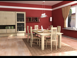 dining room by zigshot82