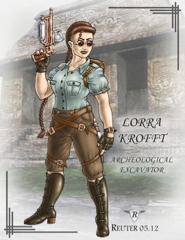 Lorra Krofft: Archeological Excavator by ReuterWorld
