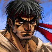 Old Ryu by ZombPunk