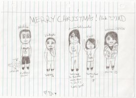 Merry Christmas my loves :D by HarlotsRoulette