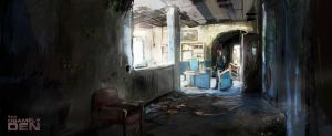 The last of us: corridor by VitoSs