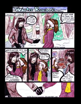 Winter Romance Page 1 of 4 by Gothicthundra