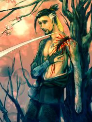 Hanzo gore by queenvera
