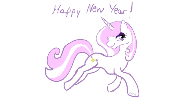 Happy New Year from Fleur de Lis by InoPony