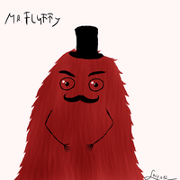 Mr. Fluffy Redraw and a little redesing by Lucya12