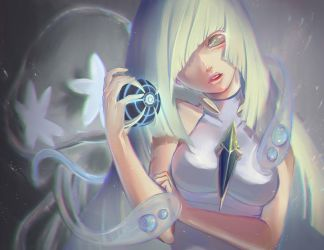 Lusamine [+SPEEDPAINT] by Nuei