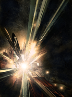 Space Explosion by Senthrax