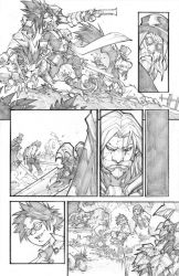 WoW Curse of the Worgen 5 pg08 by LudoLullabi